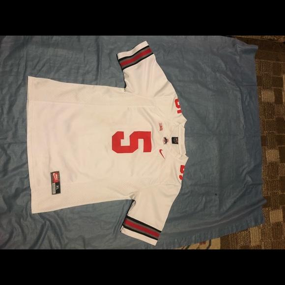 NCAA Ohio State big 10 Braxton Miller jersey